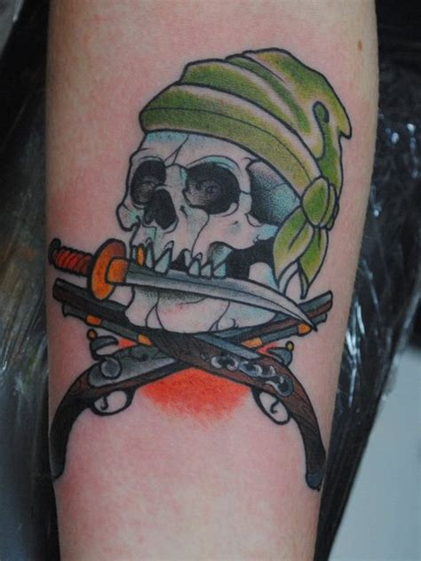 25 amazing pirate tattoo designs