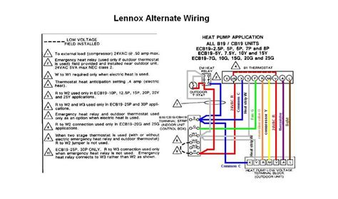 7 best images of lennox thermostat wiring diagram heat