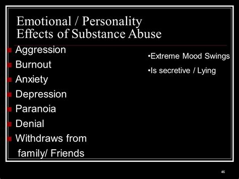 Detox Emotional Effects by Drugs Mind Altering Substances Ppt