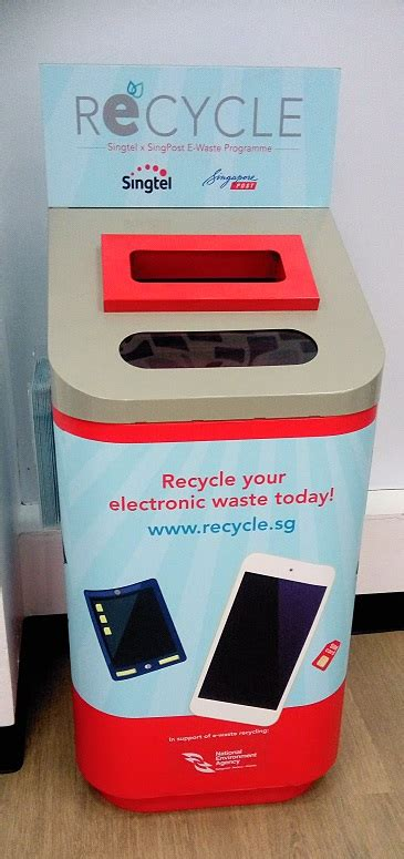 proper dispose  battery electronic waste  singapore