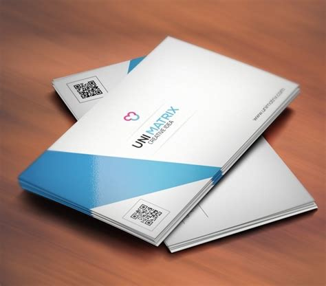 creative business card templates psd free simple clean creative business card template psd