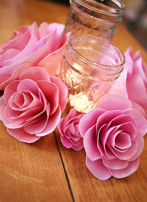 How To Make Flowers Using Paper - best 25 paper flower centerpieces ideas on