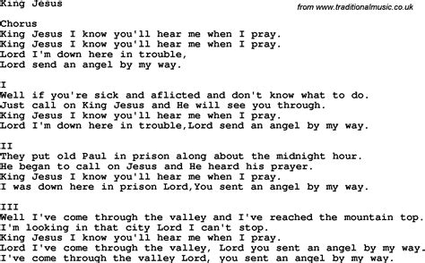 country music jesus chords country southern and bluegrass gospel song king jesus lyrics