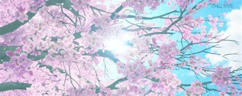 cherry tree anime cherry blossom tree anime gif anime scenery blossom trees cherry blossoms and anime