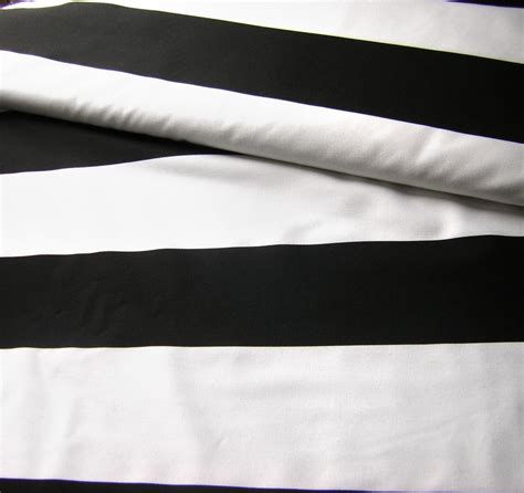 black and white curtain fabric uk black white cotton fabric wide striped fabric curtain