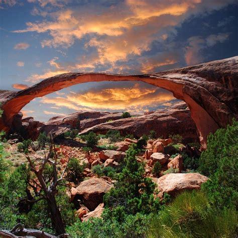 Landscape Arch Moab Devils Garden In Moab Utah Bridge Arch Outdoors That I