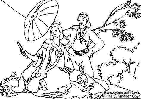 coloring pages spanish explorers goya conservative homeschoolers