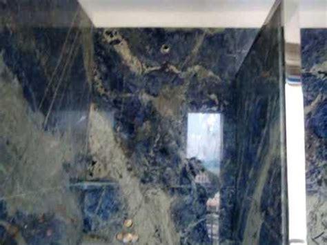 blue marble bathroom luxury lapis blue bookmatched marble bathroom by www italdesignmarble it mpg youtube