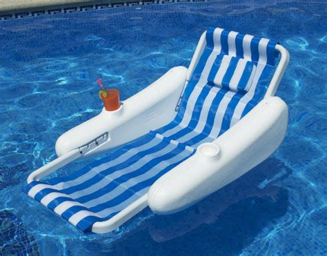 Swimming Pool Floating Lounge Chairs by Sunchaser Sling Style Floating Lounge Chair