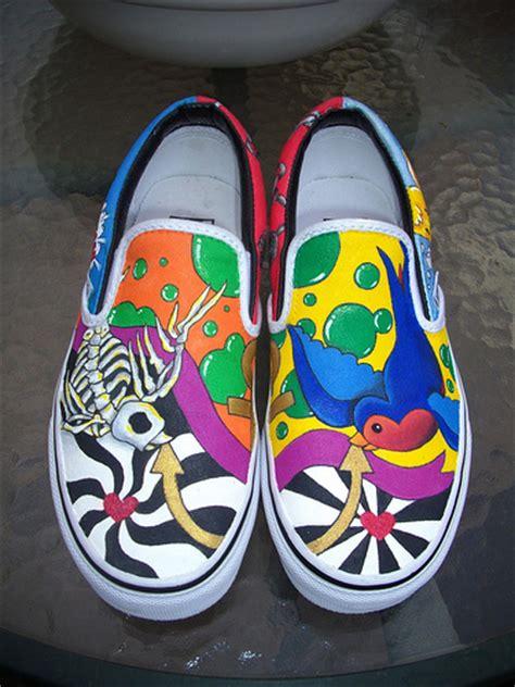 spray painting vans flickr photo