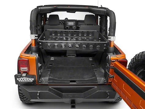 jeep wrangler 2 door storage synergy wrangler baja basket 5611 bk 07 18 jeep wrangler