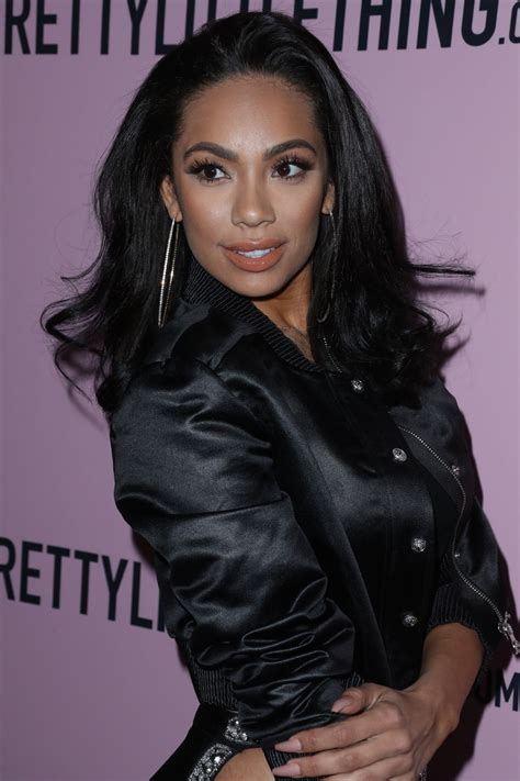 Erica Mena | erica mena at prettylittlething x stassie launch party in
