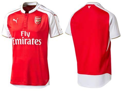 Baju Baru Arsenal jersey bola terbaru musim 2015 2016 sanoktah