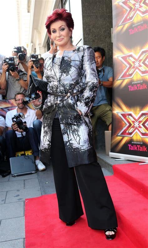 sharon osbourne french fashions sharon osbourne evening coat sharon osbourne looks