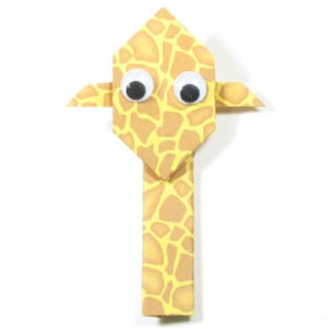 How To Make Origami Giraffe - how to make an easy origami giraffe page 1