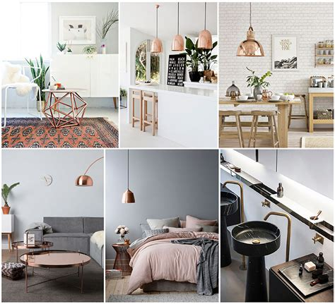 home design and decor blogs metal revival the return of brass copper in modern