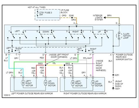 Power Window Switch Wiring Diagram Swapped Out Doors On