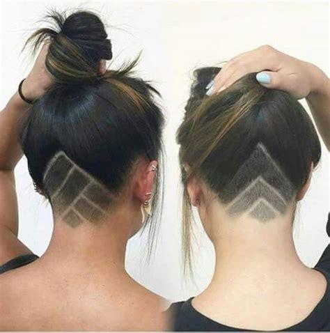 hidden stack shape haircut m 225 s de 1000 ideas sobre dise 241 os de cabello rapado en