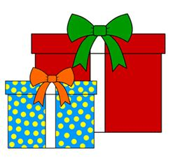 christmas drawing step by step and gift to gift cartoon easy gifts step by step drawing lesson