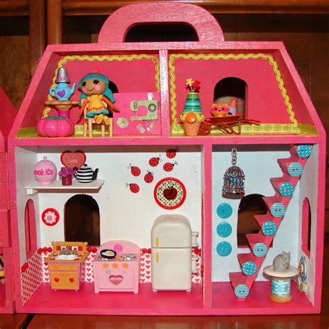 lalaloopsy doll house furniture i created my own lalaloopsy mini doll house diary of a dollhouse