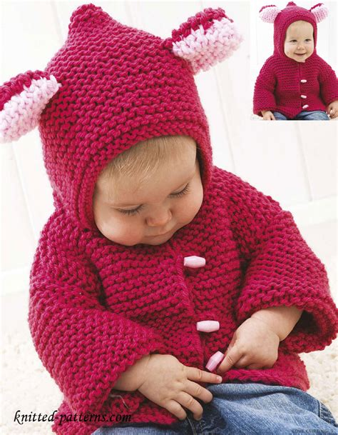 free knitting patterns baby baby jacket knitting pattern free