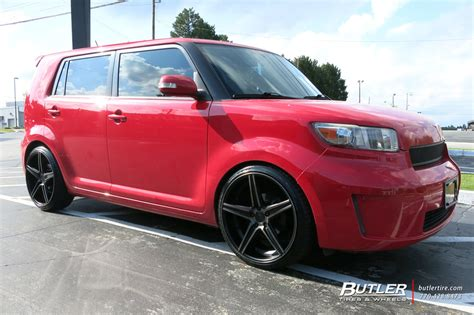 scion xb   niche apex wheels exclusively  butler tires  wheels  atlanta ga