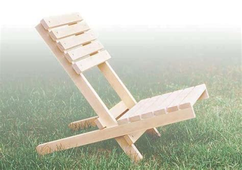 folding chair en  woodwork plans outdoor folding