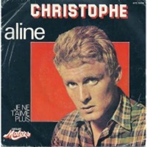 aline christophe aline song wikipedia
