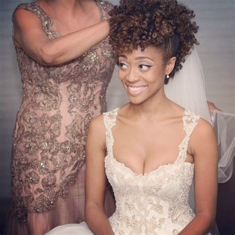 kinky wedding styles best 25 natural hair wedding ideas on pinterest natural