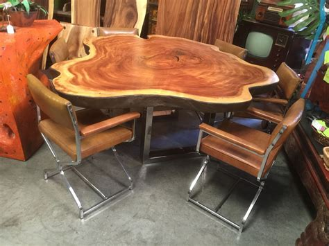 sustainable dining table live edge save on rustic dining tables and furniture made from solid