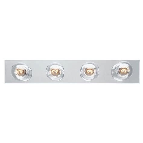 Westinghouse 4 Light White Interior Bath Bar Light 6659500