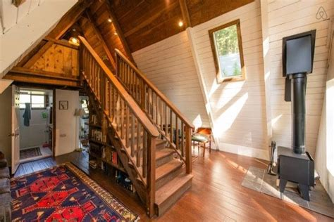 A Frame Style House - cozy a frame cabin in the redwoods home design garden