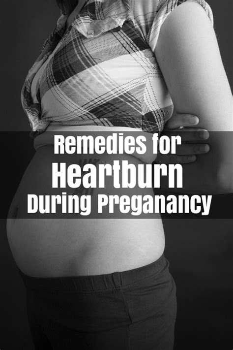 how to get rid of heartburn during pregnancy home remedies