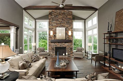 stone fireplace decor stone fireplaces add warmth and style to the modern home