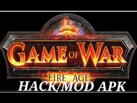 download mod game of war fire age game of war fire age hack mod youtube