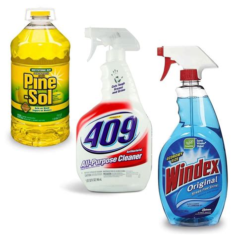 cleaning products cleaning supplies