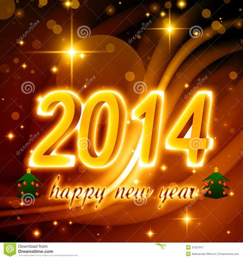 royalty free stock photography happy new year 2014 image