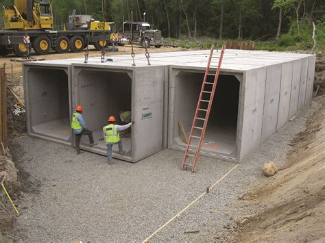 U Shaped House Design by Use Box Culverts For Fast Bridge Replacement Npca