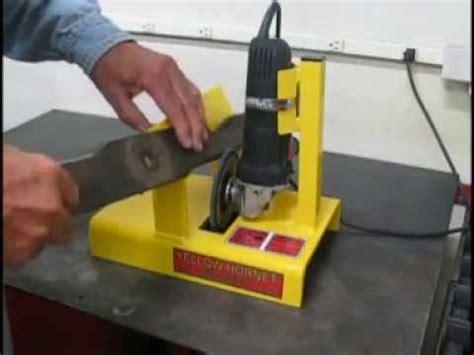 best blade sharpener yellow hornet mower blade sharpener mower blade sharpener
