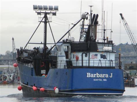 salty boats f v barbara j trident seafoods tender ak salty boating news ballard seattle