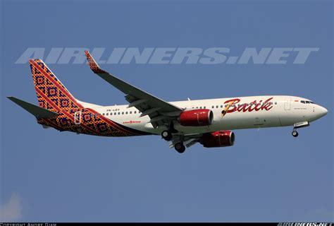 batik air boeing 737 boeing 737 8gp batik air aviation photo 2691809