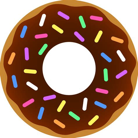 printable donut images cute chocolate doughnut printables fonts pinterest