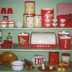 Kitchen Collectibles by Lustro Ware For Your Retro Kitchen Pinup Antiques