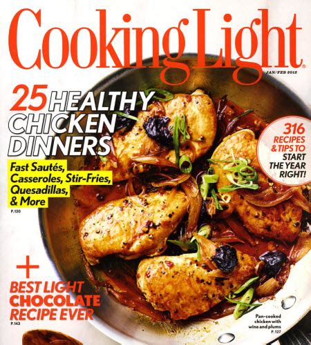 cooking light magazine reviews cooking light magazine as low as 7 48 for subscription
