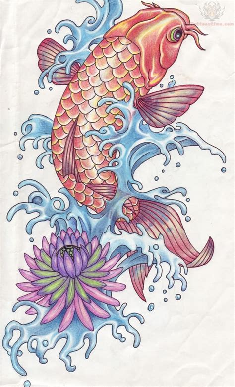 fish tattoo designs art koi fish designs for
