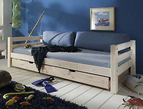 kinderbett mit ausziehbarem unterbett und rausfallschutz jugendbetten betten f 252 r jugendzimmer g 252 nstig kaufen