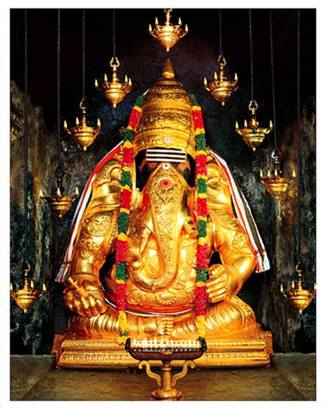 God Statue by Sri Karpaga Vinayagar Temple Pooja