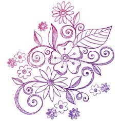 what do doodle flowers 1000 images about flower doodles on flower