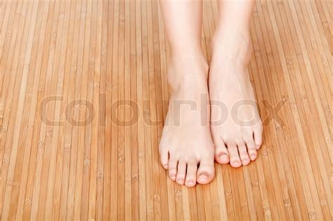 Log Home Floor Plans And Prices female feet on a wooden floor stock photo colourbox