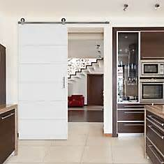 Masonite 36 Inch X 84 Inch Melrose Interior Barn Door Slab 36 Inch Sliding Closet Doors
